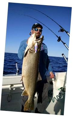 Diabolical sport fishing charters in mackinaw city for Mackinaw city fishing charters